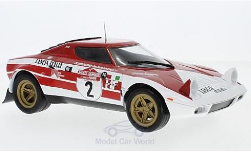 Lancia Stratos Rallye 1/18 Triple 9 Collection HF No.2 Marlboro Marlboro Sanremo 1974 mit Decals S.Munari/M.Mannucci miniature