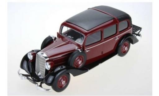 Mercedes 260 1/18 Triple 9 Collection D (W138) Pullman Landaulet rouge/noire 1936 fermé Verdeck miniature