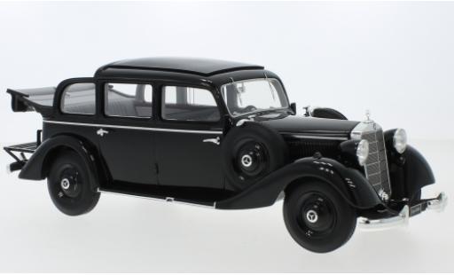 Mercedes 260 1/18 Triple 9 Collection D (W138) Pullman Landaulet noire 1936 ouverts/es Verdeck miniature