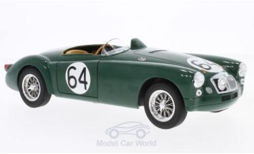 MG EX 1/18 Triple 9 Collection 182 No.64 24h Le Mans 1955 T.Lund/H.Waeffler diecast model cars