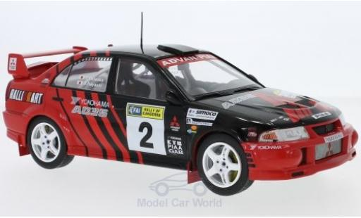Mitsubishi Lancer 1/18 Triple 9 Collection Evo VI No.2 Rallye Canberra 1999 Y.Kataoka/S.Hayashi miniature