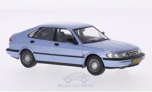 Saab 900 1/43 Triple 9 Collection V6 metallic-hellbleue 1994 miniature
