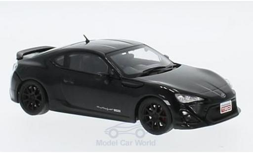 Toyota 86 1/43 Triple 9 Collection TRD noire RHD 2015 miniature