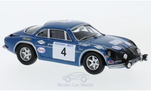 Alpine A110 1/43 Trofeu Renault No.4 Rallye Irland 1971 N.Hollier/P.Short diecast model cars