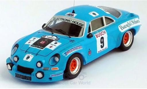 Alpine A110 1/43 Trofeu Renault No.9 Rally Ypres 1975 M.Nusbaumer/Jimmy miniature