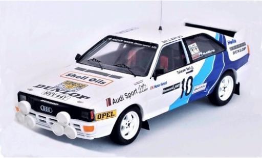 Audi Quattro 1/43 Trofeu quattro No.10 Malcolm Wilson (Motorsport) LTD. Rallye WM Rallye Schweden 1985 M.Wilson/N.Harris miniature
