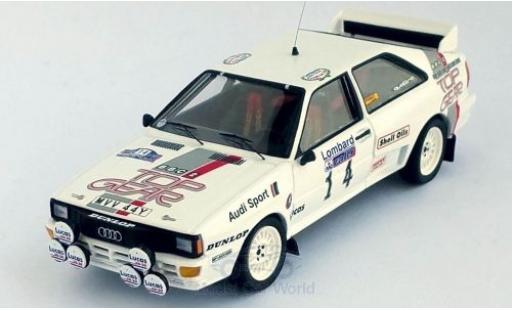 Audi Quattro 1/43 Trofeu quattro No.14 Top Gear Rallye WM RAC Rallye 1984 M.Wilson/N.Harris miniature