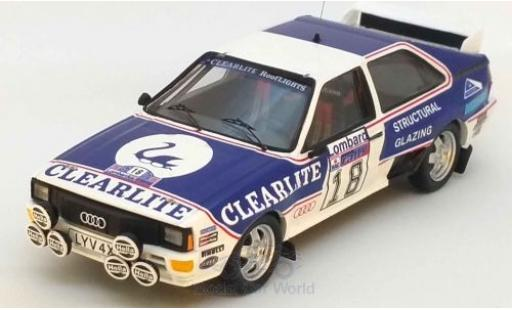 Audi Quattro 1/43 Trofeu quattro No.18 Rallye WM RAC Rallye 1983 D.Weidner/R.Arthur miniature