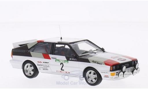 Audi Quattro 1/43 Trofeu No.2 Rallye WM Rallye Portugal 1981 H.Mikkola/A.Hertz miniature
