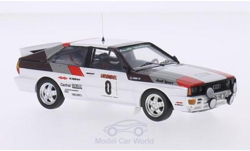 Audi Quattro 1/43 Trofeu quattro Rallye WM Rallye Algarve 1980 H.Mikkola/A.Hertz miniature