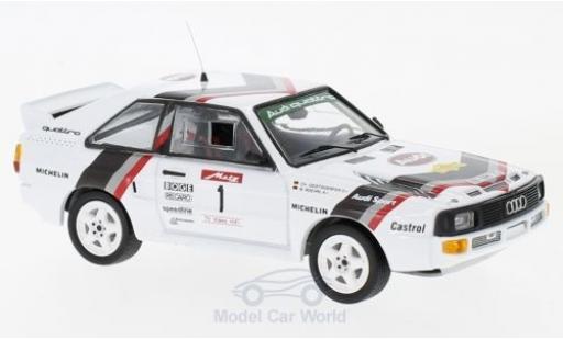 Audi Sport Quattro 1/43 Trofeu Sport quattro No.1 Rallye DM Rallye Metz 1984 W.Röhrl/C.Geistdörfer diecast model cars