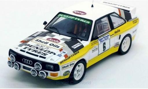 Audi Sport Quattro 1/43 Trofeu Sport quattro No.6 Rallye Manx 1985 M.Wilson/N.Harris miniature