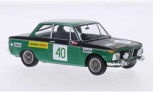 Bmw 2002 1/43 Trofeu No.40 Team RRC Leru Jänner Rallye 1973 Rupp/Geppel miniature