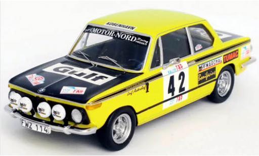 Bmw 2002 1/43 Trofeu No.42 Motor-Nord Racing Gulf Rallye WM Rally Portugal 1973 L.Asterhag/A.Gullberg diecast model cars