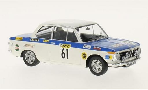 Bmw 2002 1/43 Trofeu No.61 Tour Auto 1971 T.Fall/M.Wood miniature