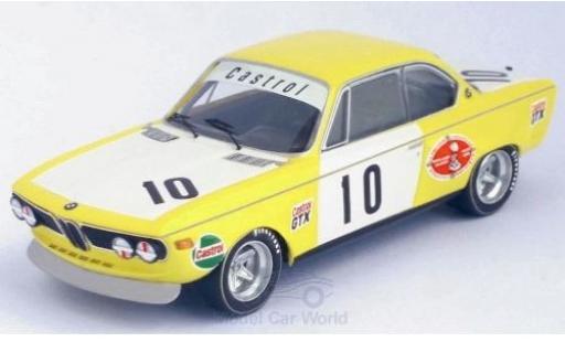 Bmw 2800 1/43 Trofeu CS No.10 Monza 1972 J.Xhenceval/A.Peltier diecast model cars