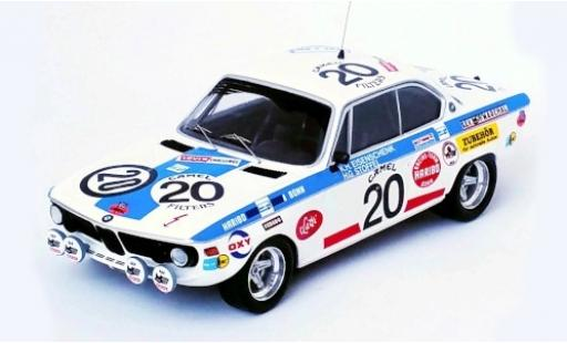 Bmw 2800 1/43 Trofeu CS No.20 24h Spa 1971 K-H.Eisenschenk/H-G.Stoffel diecast model cars