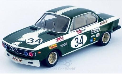 Bmw 2800 1/43 Trofeu CS No.34 Broadspeed Salzburg 1972 J.Fitzpatrick miniature