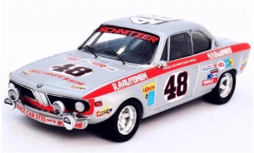 Bmw 2800 1/43 Trofeu CS No.48 Team Schnitzer-Motul 24h Spa Francorchamps 1971 R.Aaltonen/H.Kelleners miniature