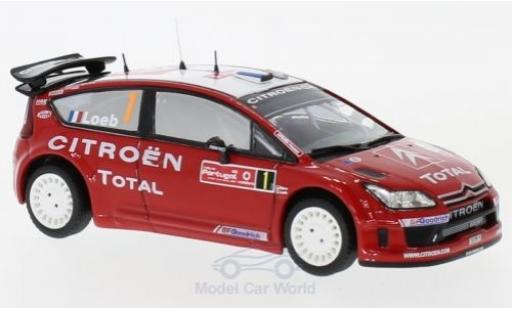 Citroen C4 WRC 1/43 Trofeu No.1 Rallye Portugal 2007 S.Loeb/D.Elena miniature
