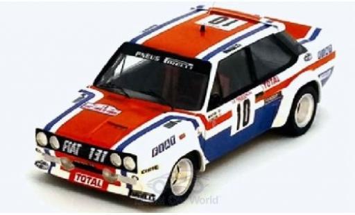 Fiat 131 1/43 Trofeu Abarth No.10 Rallye WM Tour de Corse 1978 M.Mouton/F.Conconi miniature