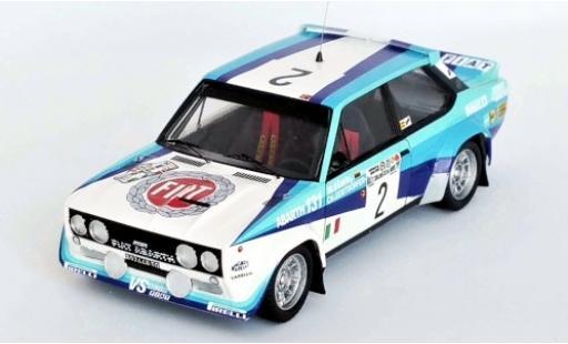 Fiat 131 1/43 Trofeu Abarth No.2 VS Olio Rally Argentinien 1980 W.Röhrl/C.Geistdörfer miniature