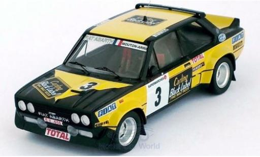 Fiat 131 1/43 Trofeu Abarth No.3 Carling Black Label Boucles de Spa 1980 M.Mouton/A.Arrii diecast