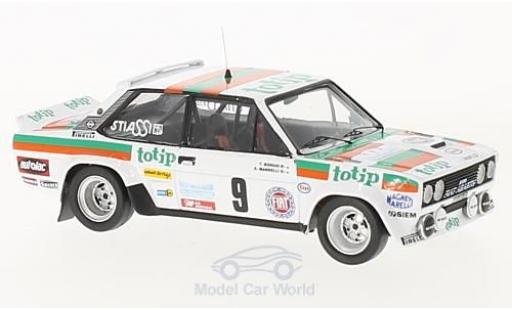 Fiat 131 1/43 Trofeu Abarth No.9 Rallye Madeira 1982 A.Mandelli/T.Borghi coche miniatura