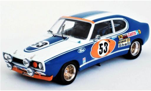 Ford Capri 1/43 Trofeu MkI 2600 RS No.53 Motor Company Deutschland 24h Le Mans 1972 J.Mass/H-J.Stuck diecast model cars