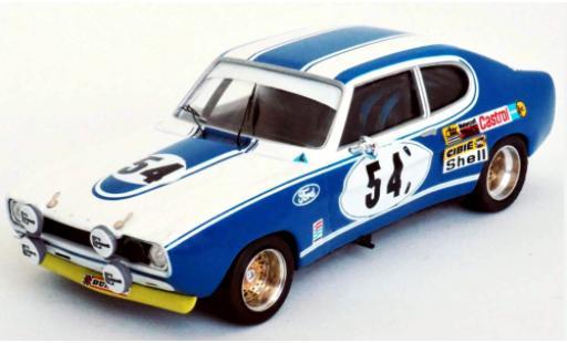 Ford Capri 1/43 Trofeu MkI 2600 RS No.54 Motor Company Deutschland 24h Le Mans 1972 G.Birrell/C.Bourgoignie miniature