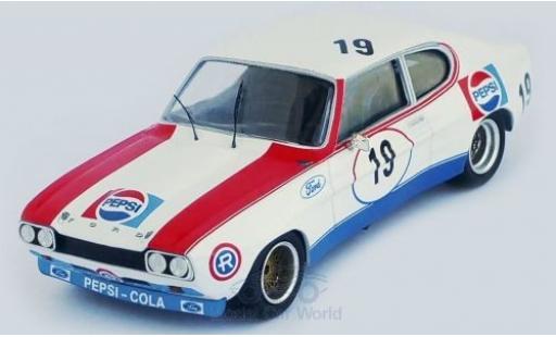 Ford Capri 1/43 Trofeu MKI RS 2600 No.19 Pepsi 4h Monza 1973 A.R.Gimenez/J.Mesia