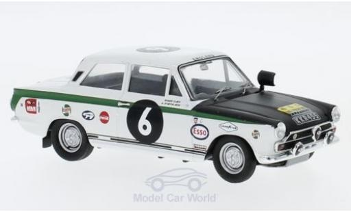 Ford Cortina 1/43 Trofeu MK I RHD No.6 East Africa Safari Rallye 1967 R.Clark/G.Staepelaere miniature