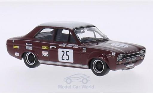 Ford Escort 1/43 Trofeu I 1600 TC RHD No.25 Team Broadspeed / Bristol Street Group BSCC 1968 J.Fitzpatrick miniature