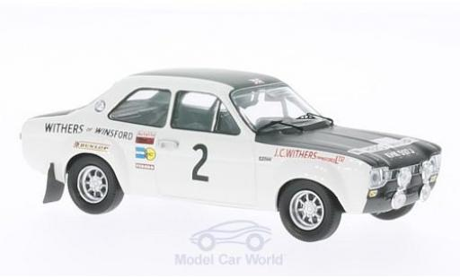 Ford Escort 1/43 Trofeu I RS 1600 No.2 Withers of Winsford Rallye Manx 1971 R.Clark/H.Liddon miniature