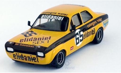 Ford Escort 1/43 Trofeu MK I No.65 Vila do Conde 1977 D.Vidal miniature