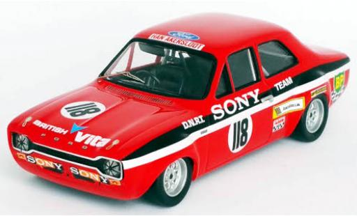 Ford Escort 1/43 Trofeu MK I RHD No.118 Sony Coupes Benelux Zandvoort 1971 Y.Fontaine miniature
