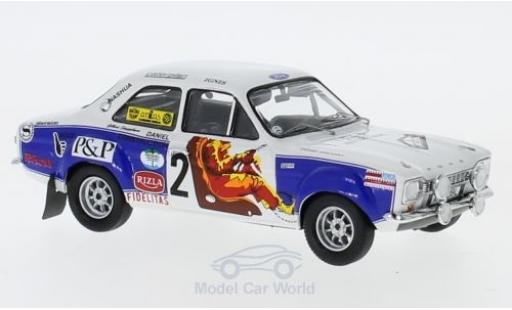Ford Escort 1/43 Trofeu MK I RS 1600 No.2 Rallye Ypres 1974 G.Staepelaere/Jimmy miniature