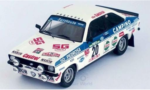 Ford Escort 1/43 Trofeu MK II No.20 Rallye WM Rally Portugal 1981 C.Torres/A.Morais miniature