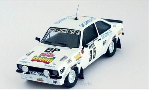 Ford Escort 1981 1/43 Trofeu MK II RS 1800 No.35 vsd Rallye WM Rallye Monte Carlo D.Snobeck/D.Emmanuelli miniature