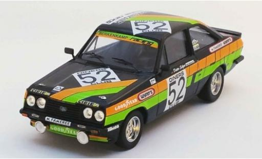Ford Escort 1/43 Trofeu Mk II RS2000 No.52 Berkenkamp Racing 24h Spa 1979 A.Beauchef/D.Selzer/K.Mauer miniature