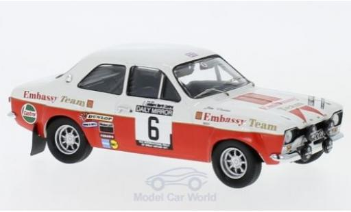Ford Escort 1/43 Trofeu MK1 No.6 Embassy RAC Rallye 1971 R.Clark/J.Porter miniature