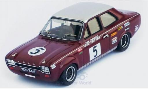 Ford Escort 1/43 Trofeu MKI 1300 GT RHD No.5 Trophee de LAvenir Zolder 1968 Y.Fontaine