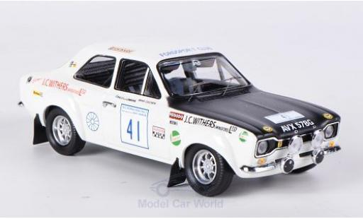 Ford Escort MKI 1/43 Trofeu 1600 TC No.41 Withers of Winsford Rallye Großbritannien 1971 miniature