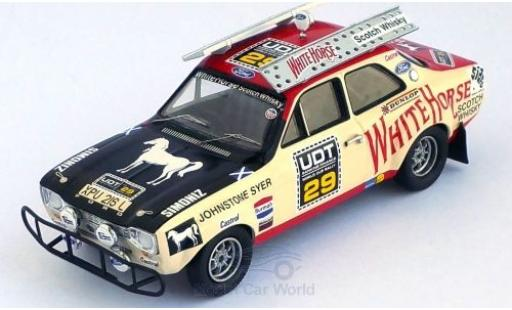 Ford Escort 1/43 Trofeu MKI RHD No.29 White Horse World Cup Rally 1974 A.Cowan/J.Syer