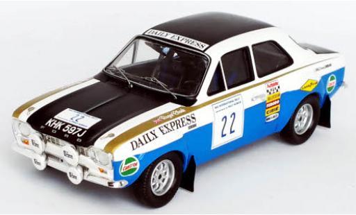 Ford Escort 1/43 Trofeu MkI RS 1600 No.22 Daily Express RAC Rallye 1970 R.Clark/J.Porter miniature
