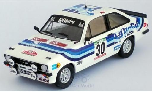 Ford Escort 1/43 Trofeu MKII No.30 Rallye WM Rally Portugal 1980 J.M.Cunha/J.Barreto