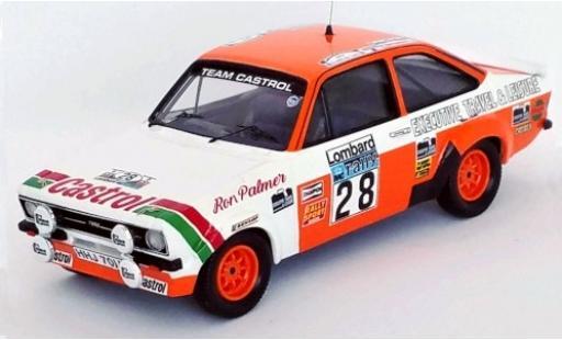 Ford Escort 1/43 Trofeu MkII RHD No.28 Team Castrol Castrol RAC Rally 1978 M.Wilson/R.Palmer miniature