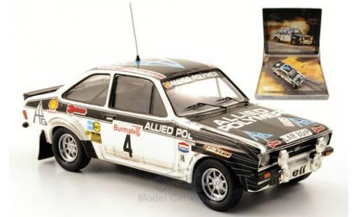 Ford Escort MKI 1/43 Trofeu I RS 1800 No.4 Allied Polymer RAC Rallye 1976 British Rallye Legends A.Vatanen miniature