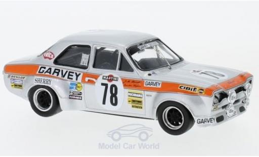 Ford Escort 1/43 Trofeu RS 1600 RHD No.78 24h Spa 1973 R.Barrios/E.Zapico/J.Uriarte miniature