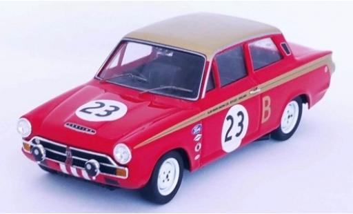 Ford Lotus 1/43 Trofeu Cortina RHD No.23 Alan Mann Racing 12h Marlboro Park 1966 J.Whitmore/F.Gardner miniature